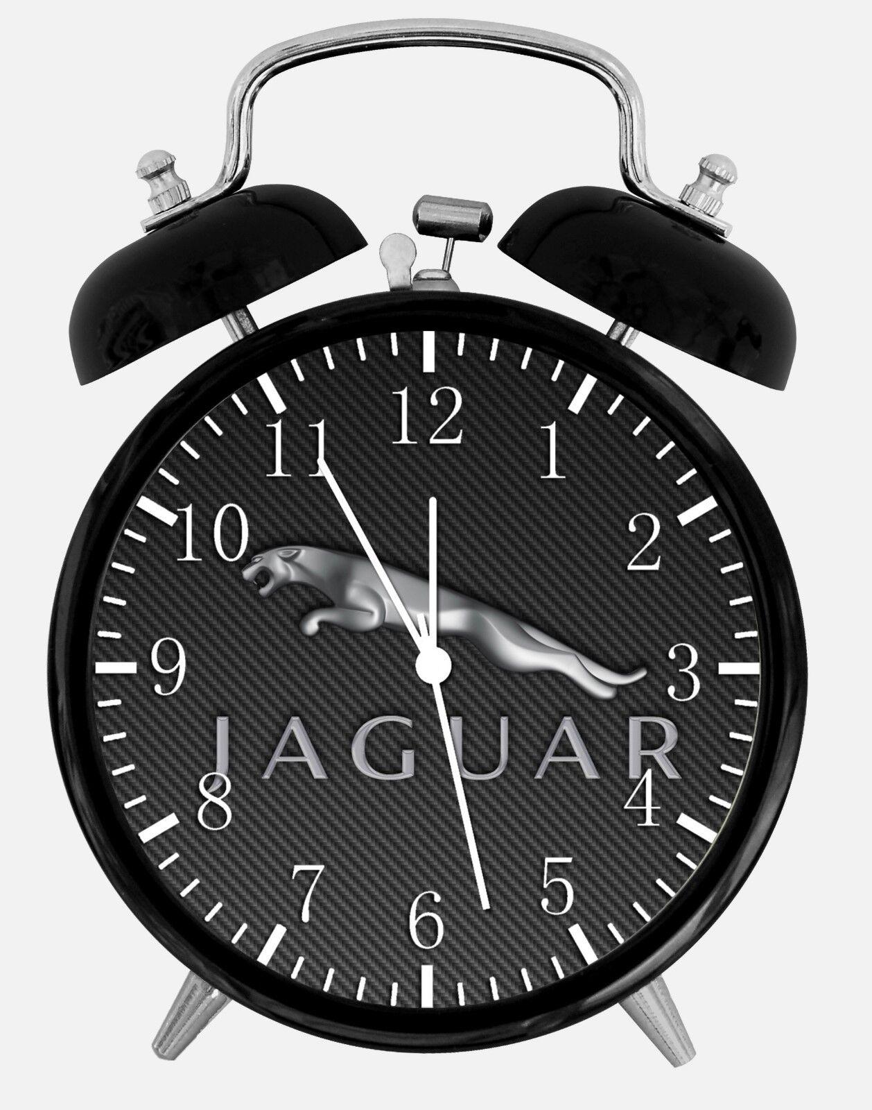 "Jagura Alarm Desk Clock 3.75"" Home or Office Decor W453 Nice For Gift"