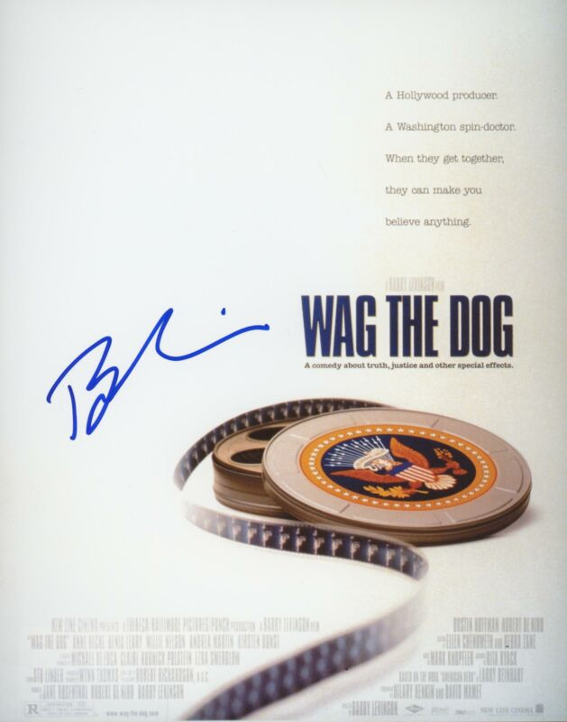 "Barry Levinson ""Wag the Dog"" Director AUTOGRAPH Signed 8x10 Photo"