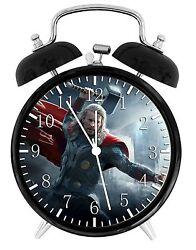 Thor Alarm Desk Clock 3.75 Home or Office Decor E462 Nice For Gift