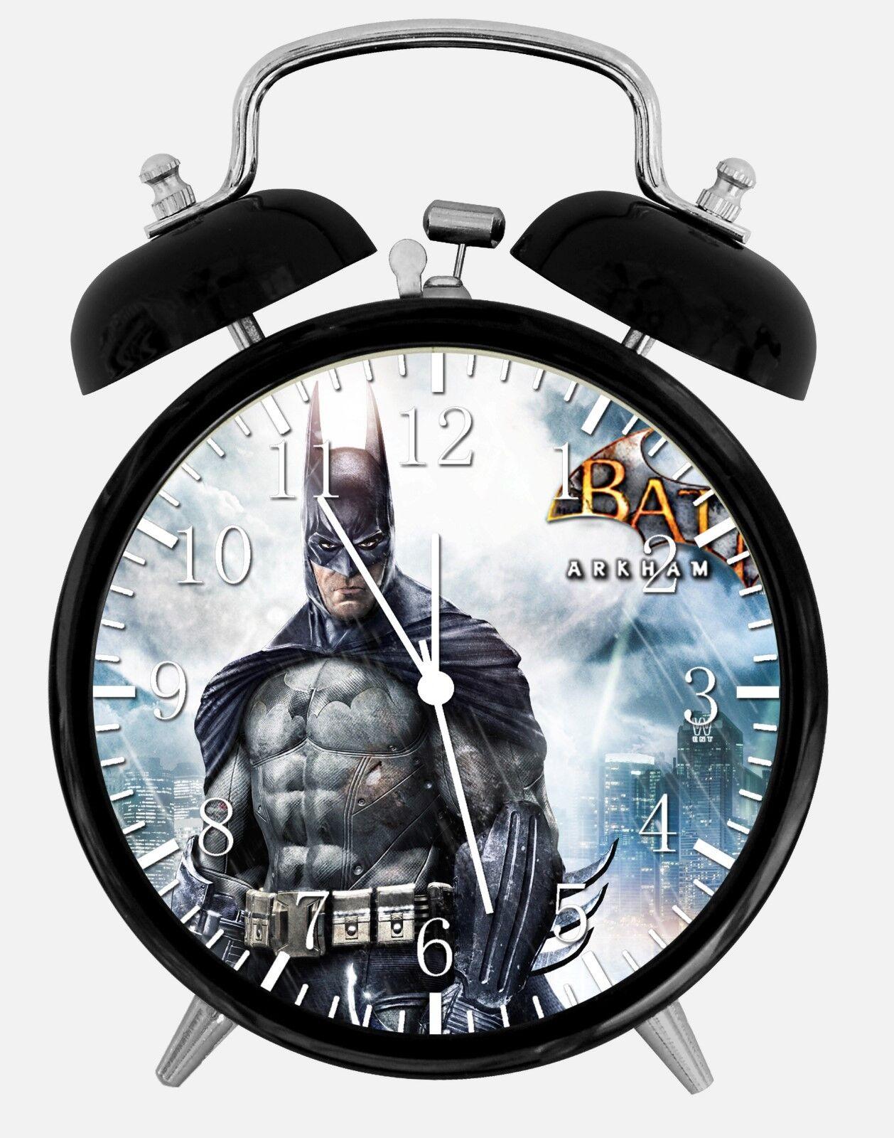 "Batman Alarm Desk Clock 3.75"" Home or Office Decor Y43 Nice For Gift"