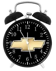 Chevy Chevrolet Alarm Desk Clock 3.75 Home or Office Decor W447 Nice For Gift