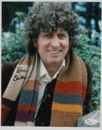 Tom Baker Doctor Who Autograph Signed Photo JSA Photo 8 x 10 4th
