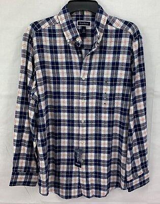 Buffalo Plaid Flannel - Club Room Men's Flannel Buffalo Plaid Shirt
