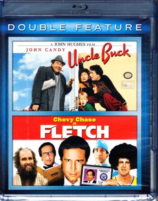 FLETCH / UNCLE BUCK BLU RAY 2 DISCS CHEVY CHASE / JOHN CANDY