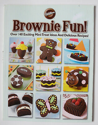 Brownie Fun! Over 140 Exciting Mini-Treats Ideas and Recipes--Wilton (2008,PB) - Halloween Dessert Recipe Ideas