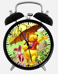 Winnie The Pooh Alarm Desk Clock 3.75 Home Office Decor Z07 Nice For Gift