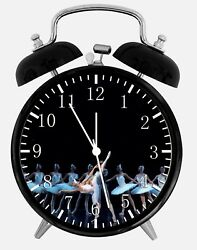 Ballet Alarm Desk Clock 3.75 Home or Office Decor Z138 Nice For Gift