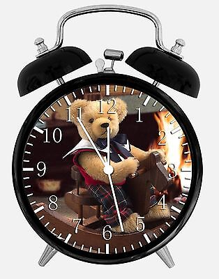 (Teddy Bear Alarm Desk Clock 3.75