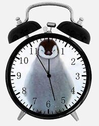 Cute Baby Penguin Alarm Desk Clock 3.75 Home or Office Decor E207 Nice For Gift
