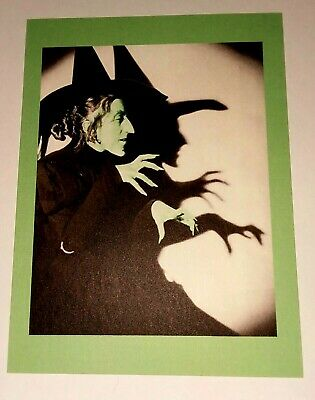 UNUSED* Halloween Postcard: Wicked Witch Of The West Vintage Image~Reproduction