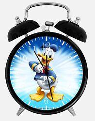 Disney Donald Duck Alarm Desk Clock 3.75 Home or Office Decor E118 Nice Gift