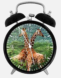 Cute Giraffe Alarm Desk Clock 3.75 Room Office Decor E307 Nice For Gift