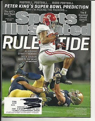 2013 Sports Illustrated Magazine January 14Th Peter King S Super Bowl Prediction