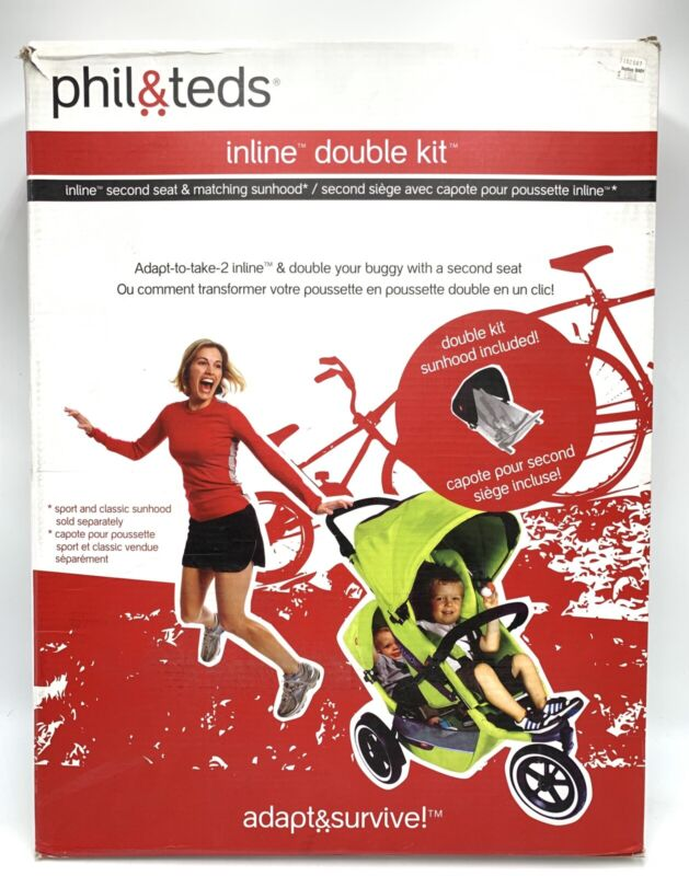 Phil & Teds Inline Double Kit, Second Seat Only For Explorer