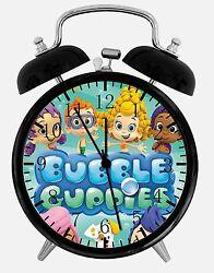 Bubble Guppies Alarm Desk Clock 3.75 Home or Office Decor E399 Nice For Gift