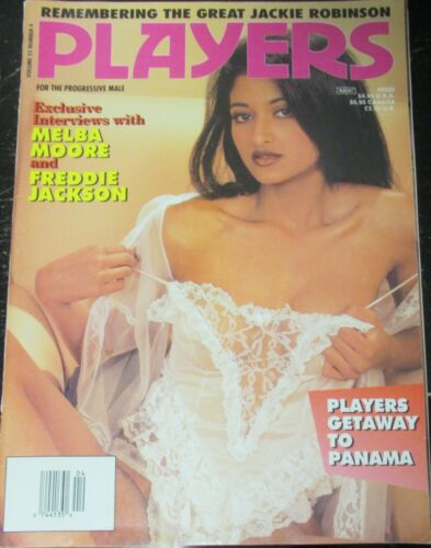 PLAYERS VOLUME 22 # 4 VINTAGE AFRICAN AMERICAN COLLECTABLE MAGAZINE