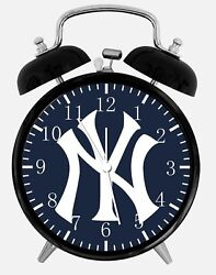New York Yankees Alarm Desk Clock 3.75 Home or Office Decor Z163 Nice For Gift