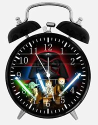 Lego Star Wars Alarm Desk Clock 3.75 Home or Office Decor W412 Nice For Gift