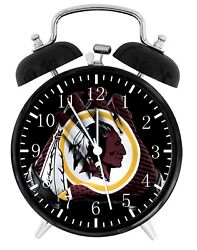Washington Redskins Alarm Desk Clock Home or Office Decor F111 Nice Gift