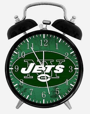New York Jets Alarm Desk Clock 3.75