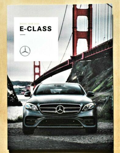 ORIGINAL 2020 MERCEDES E CLASS w/ AMG PRESTIGE SALES BROCHURE~58 PAGES~GE2