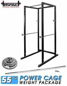 Power Cage/Rack Weight Plate 7FT barbell Home Gym Packages NEW Malaga Swan Area Preview