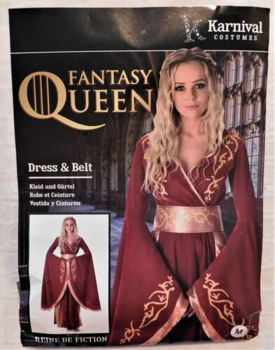 NEW Karnival Halloween Fantasy Queen Costume Size M  FREE SHIPPING