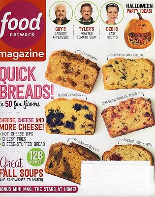 Food Network Magazine   2014   Oct   Quick Breads  Holloween  128 Recipes