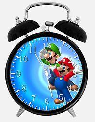 Super Mario Luigi Alarm Desk Clock 3.75 Home or Office Decor W234 Nice For Gift