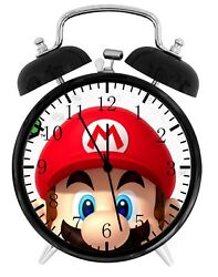 Super Mario Alarm Desk Clock Home or Office Decor F63 Nice Gift