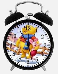 Winnie the Pooh Alarm Desk Clock 3.75 Home or Office Decor E408 Nice For Gift