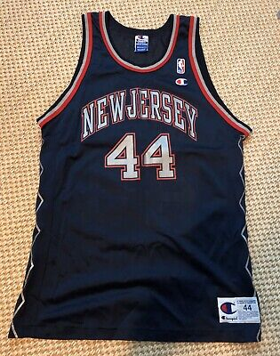 Keith Van Horn New Jersey Nets Champion Jersey NBA  Sz. 44 or 40