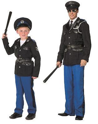 Polizist Polizei Police Cop FBI CIA Kostüm Uniform - Jungen Cop Kostüme