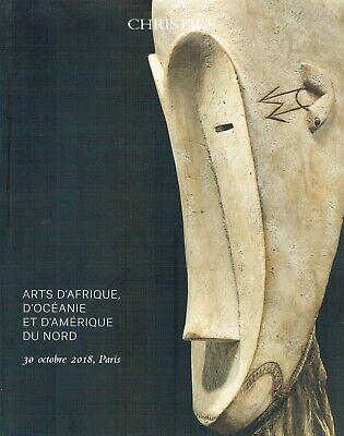 Christies Paris Africa, Oceanic & American Tribal Art Auction Catalogue Oct 2018