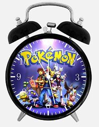 Pokemon Alarm Desk Clock 3.75 Home or Office Decor E247 Nice For Gift