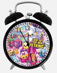 Shopkins Alarm Desk Clock 3.75 Home or Office Decor E498 Nice For Gift