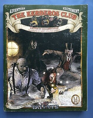The Kerberos Club - Victorian Sourcebook for Wild Talents Superhero RPG ARC2003