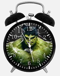 Hulk Super Hero Alarm Desk Clock 3.75 Home or Office Decor E78 Nice For Gift