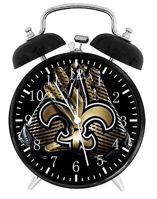 New Orleans Saints Football Alarm Desk Clock Home Decor F114 Nice Gift
