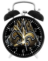 New Orleans Saints Football Alarm Desk Clock Home Decor F114 Nice Gift