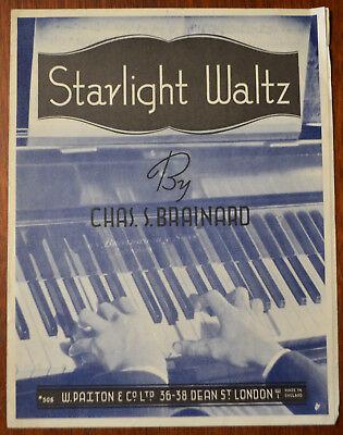 Starlight Waltz by Chas S. Brainard