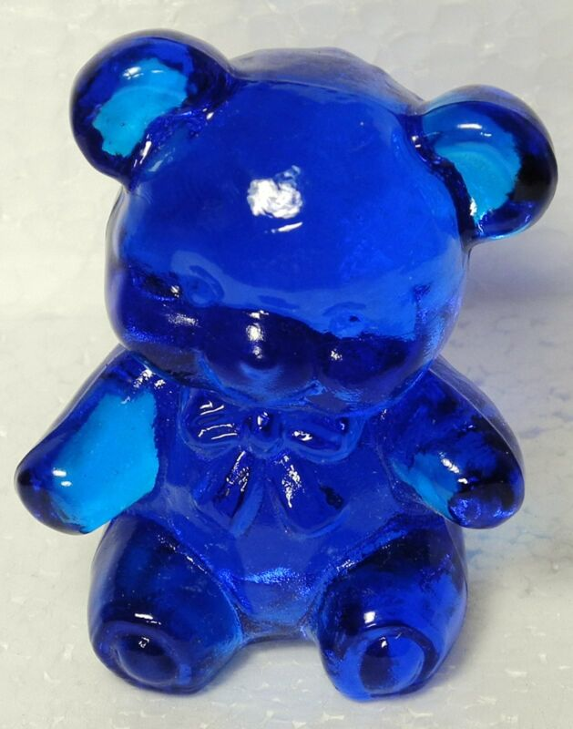 Boyd Glass Fuzzy the Bear Ritz Blue 1988