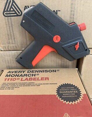 Monarch 1110 Price Gun Labeler 1-line 1 Roll1063 White Labels Free