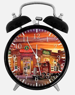Old Fashion Beer Alarm Desk Clock 3.75