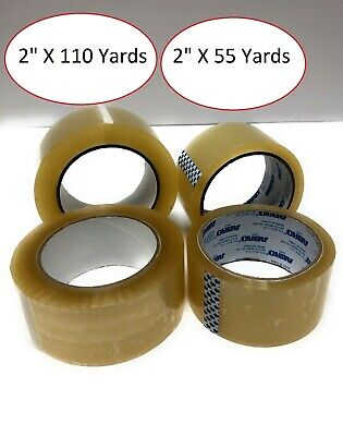 Heavy Duty Box Sealing Packing Shipping Clear Tape 2 X 55 110 Yard 2.0 Mil
