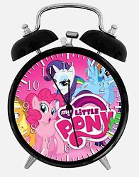 My Little Pony Alarm Desk Clock 3.75 Home or Office Decor E379 Nice For Gift
