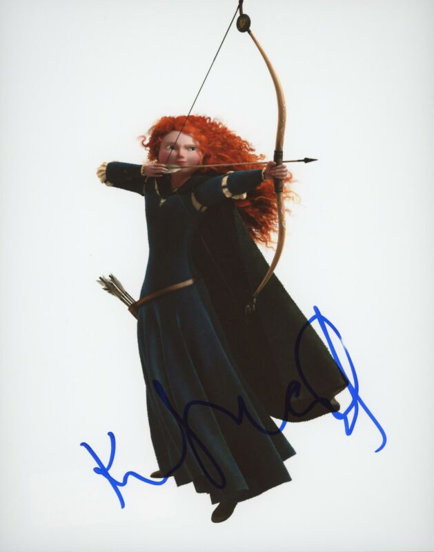 "Kelly Macdonald ""Brave"" AUTOGRAPH Signed 8x10 Photo ACOA"