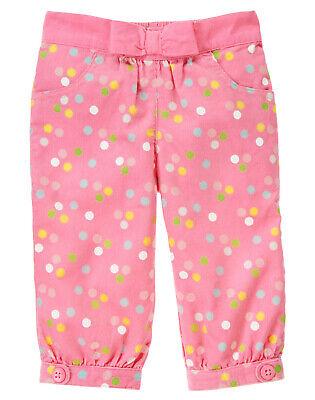 NWT Gymboree Cupcake Cutie Polka Dot Corduroy Pants 6-12 Months Baby Girl Gymboree Corduroy Pant