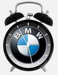 BMW Alarm Desk Clock 3.75 Home or Office Decor W429 Nice For Gift