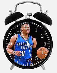 Russell Westbrook Alarm Desk Clock 3.75 Home or Office Decor E392 Nice For Gift